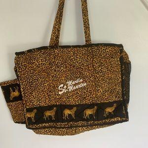 St Martin beach bag